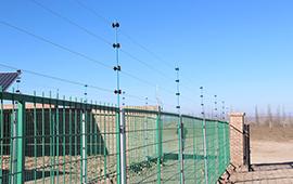 南通發電站脈沖電子圍欄安裝