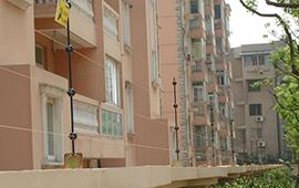 南通錦秀家園小區電子圍欄安裝