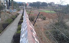 南通別墅電子圍欄系統安裝工程