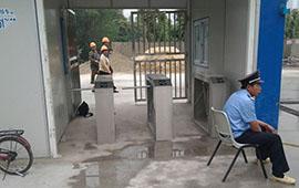 南通文洪麗景工地三輥道閘系統