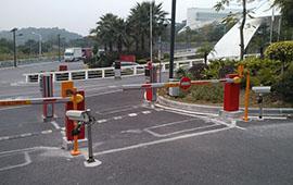 如皋匯隆科技園停車場管理系統
